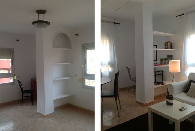Proyecto de home staging piso en zona reyes cat licos - Home staging mallorca ...
